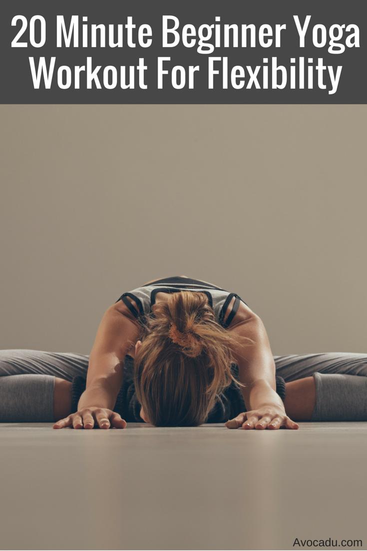 20 Minute Beginner Yoga Workout For Flexibility | Yoga for Flexibility | Yoga Poses for Flexibility | Yoga for Beginners | Avocadu.com