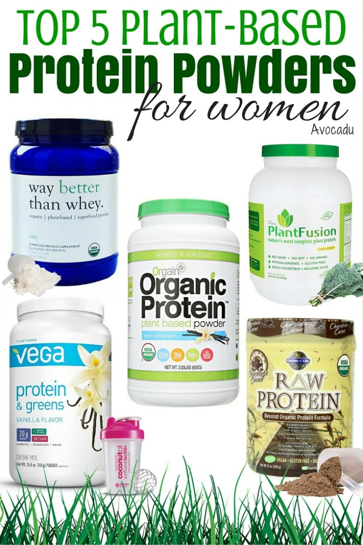Top 5 Plant-Based Protein Powders for Women | Best Organic