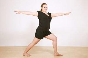 7 perfect yoga poses for plussized women  avocadu