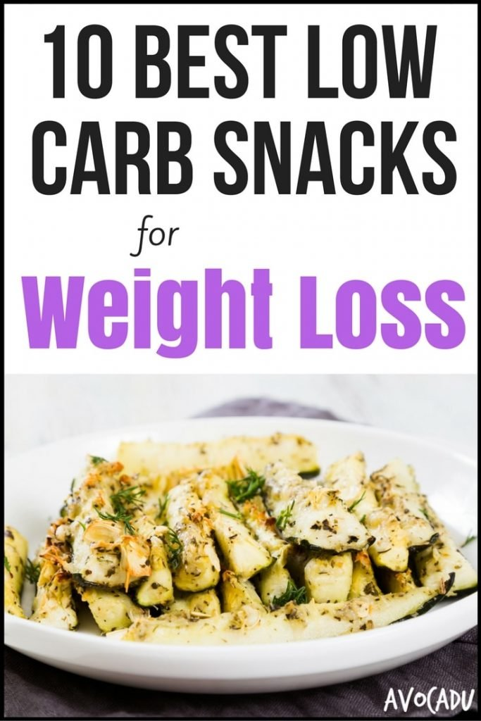 10 Best Low-Carb Snacks for Weight Loss - Avocadu