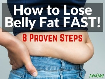 How to Lose Belly Fat Fast – 8 Proven Steps