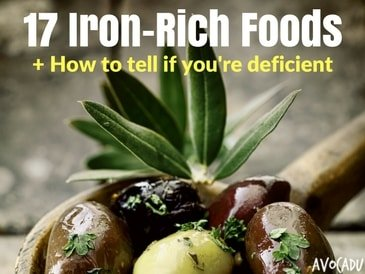 17 Iron-Rich Foods + How To Know If You're Deficient
