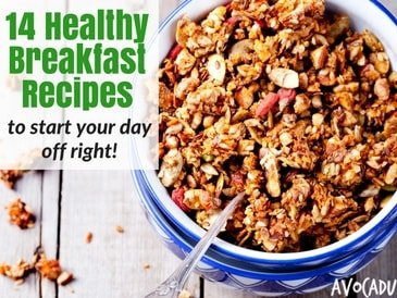 14 Quick and Healthy Breakfast Recipes To Start Your Day Off Right