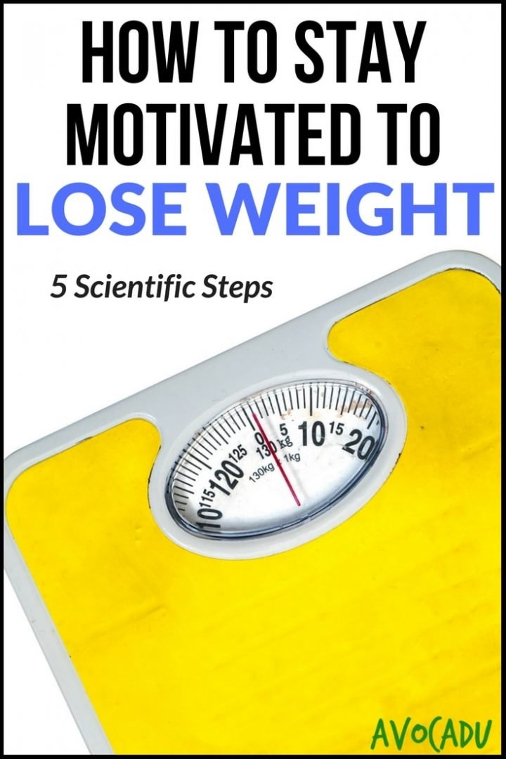 How to stay motivated to lose weight 5 scientific steps How to lose weight with slimming world