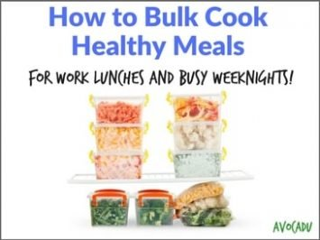 How to Bulk Cook Healthy Meals