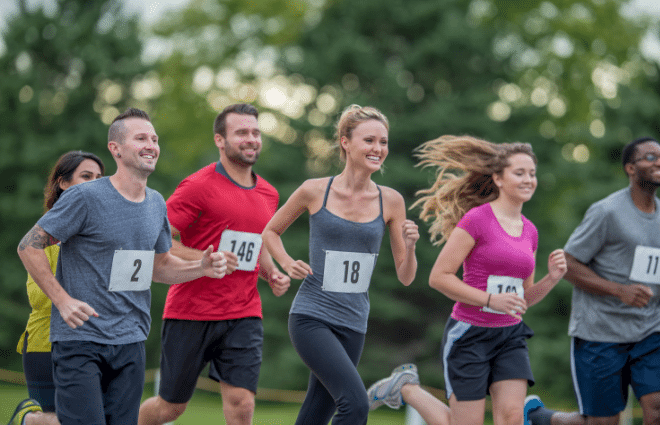 Runners happy to be running another race