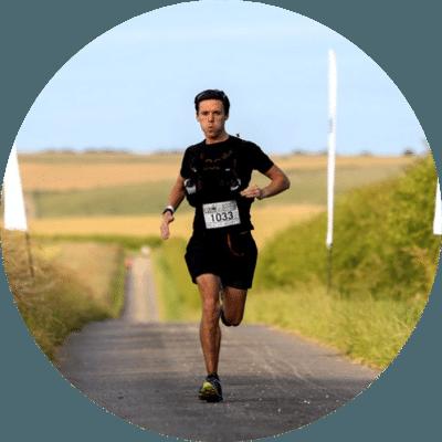 Thomas Watson, guest poster, running marathon race.